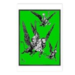 Dorothy & Flying Monkeys Postcards (Package of 8)