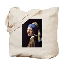 The Girl With A Pearl Earring Tote Bag