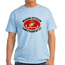 Proud Marine Veteran T-Shirt