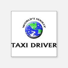 World's Sexiest Taxi Driver Sticker