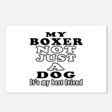 Boxer not just a dog Postcards (Package of 8)