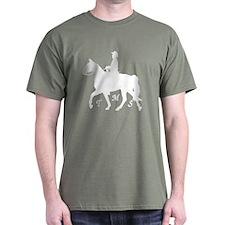 Gaited Men's Horse Dark Colors T-Shirt