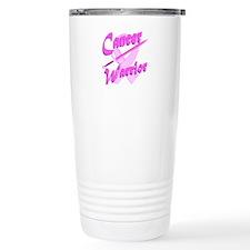 Cancer Warrior Pink Travel Mug