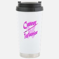 Cancer Warrior Pink Travel Mug