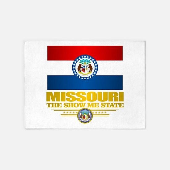 Missouri Pride 5'x7'Area Rug