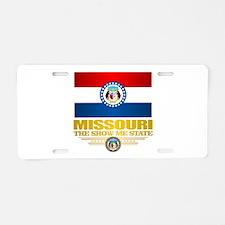 Missouri Pride Aluminum License Plate