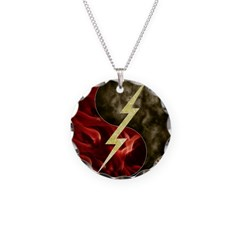 Smoke and Fire Necklace