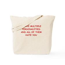 schizo Tote Bag