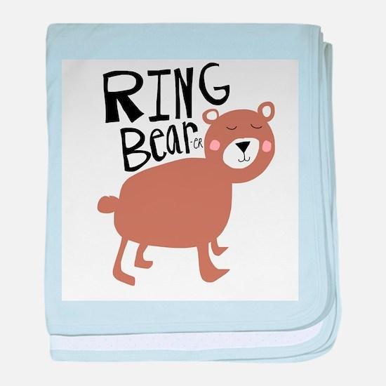 ring bear-er baby blanket
