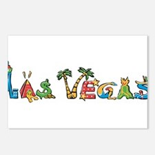 Las Vegas Postcards (Package of 8)