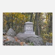 20th Maine Monument Postcards (Package of 8)
