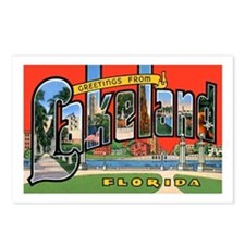 Lakeland Florida Greetings Postcards (Package of 8