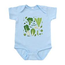 Go Green! (Leafy Green!) Body Suit