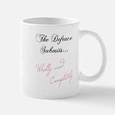 The Defence Submits Mug