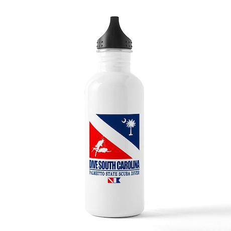 Dive South Carolina Water Bottle