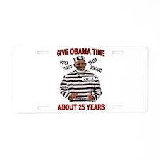 Unique Al quaeda Aluminum License Plate