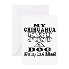Chihuahua not just a dog Greeting Card