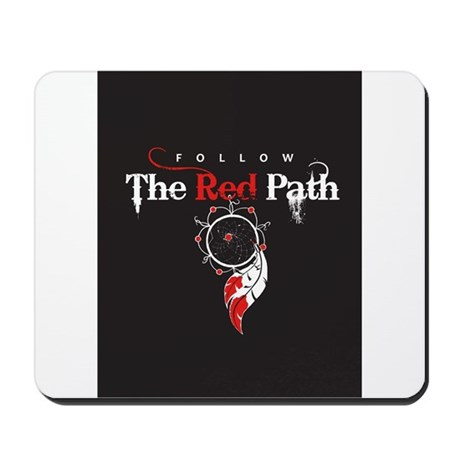 Red Path Mousepad