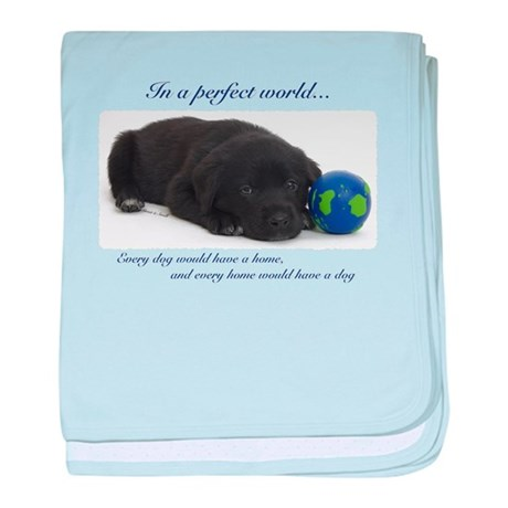 BlackLabPup_PerfectWorld1d.png baby blanket