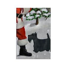 Scottish Terrier Rectangle Magnet (100 pack)