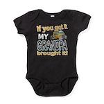 Grandpa Brought it Baby Bodysuit