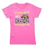Grandpa Brought it Girl's Tee