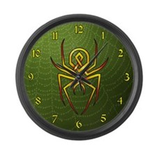 Arachnid Large Wall Clock