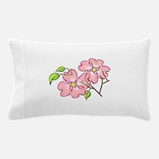 Pink Dogwood Pillow Case