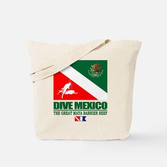 Dive Mexico Tote Bag