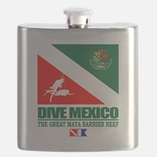 Dive Mexico Flask