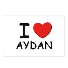 I love Aydan Postcards (Package of 8)