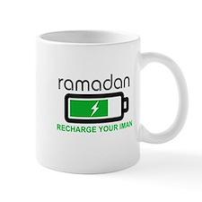ramadan recharge your iman Mugs