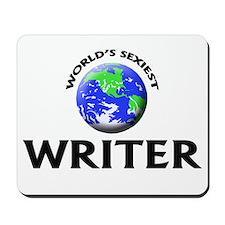 World's Sexiest Writer Mousepad