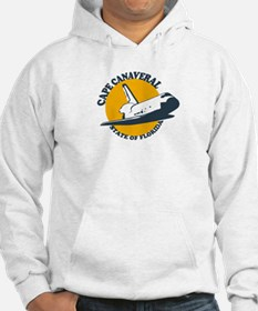 Cape Canaveral - Space Shuttle Design. Hoodie