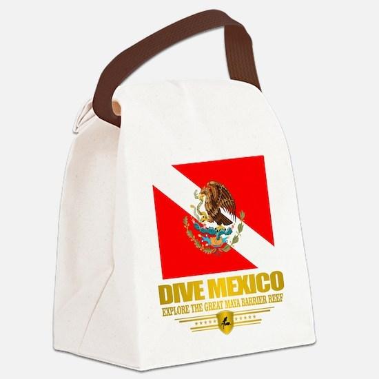 Dive Mexico 2 Canvas Lunch Bag