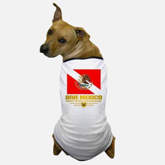 Dive Mexico 2 Dog T-Shirt