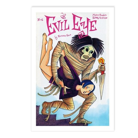 Evil Eye 6 Cover - Postcards (Package of 8)