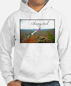 Chimney Rock with Text Hoodie
