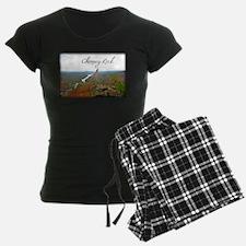 Chimney Rock with Text Pajamas