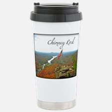 Chimney Rock with Text Travel Mug