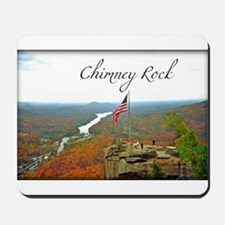 Chimney Rock with Text Mousepad