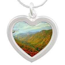 Chimney Rock Mountain Scenery Necklaces