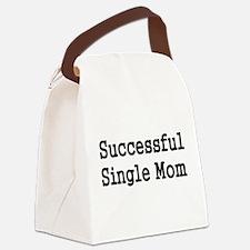 SUCCESSFUL SINGLE MOM Canvas Lunch Bag