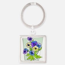 pansies.png Keychains