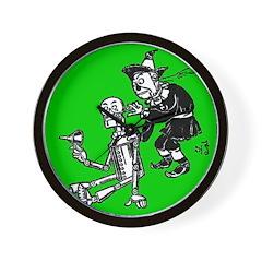 Scarecrow & Tin Man Wall Clock