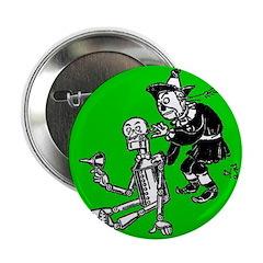 Scarecrow & Tin Man Button