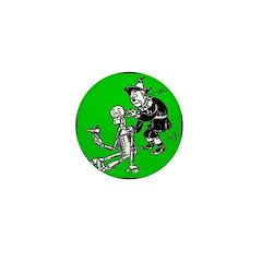 Scarecrow & Tin Man Mini Button