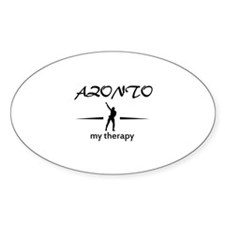 Azonto my therapy designs Decal