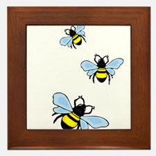 bee1.png Framed Tile