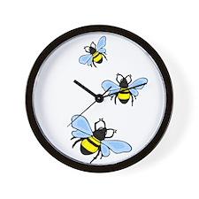bee1.png Wall Clock